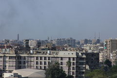 Skyline of cairo Royalty Free Stock Images
