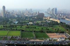 Skyline of egypt cairo Royalty Free Stock Photos
