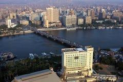 Skyline of egypt cairo Stock Images
