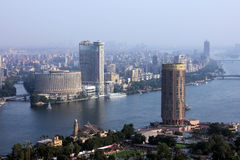 Skyline of egypt cairo Royalty Free Stock Photo