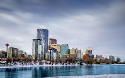 Skyline of Calgary Royalty Free Stock Photography