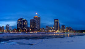 Skyline of Calgary Royalty Free Stock Photography