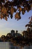 Skyline- Canada di Vancouver Fotografie Stock