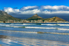 Skyline of Cape Town, South Africa Stock Images
