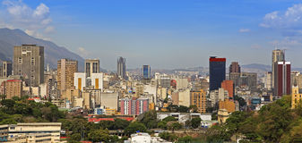 Skyline of Caracas. Venezuela. Skyline of downtown Caracas. Venezuela Royalty Free Stock Images