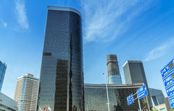 Skyline of Central Business District Stock Images