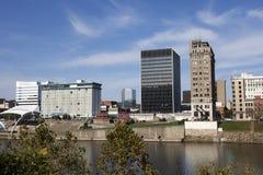 Skyline Charleston-, West Virginia Stockbilder