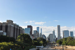 The skyline of Chicago Stock Image
