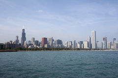 Skyline of Chicago SoC05 Royalty Free Stock Image