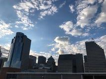 Skyline of Cincinnati Ohio stock photography