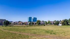 Skyline city Arnhem in the Netherlands Royalty Free Stock Photos
