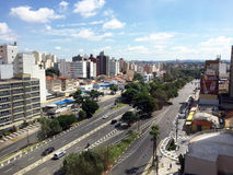 Skyline of the city of Campinas. Brazil (in Sao Paulo state&#x29 royalty free stock photography
