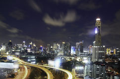 Skyline of City Royalty Free Stock Images
