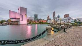 Skyline Clevelands, Ohio, USA stock video