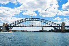 Skyline com ponte do porto, Sydney Imagem de Stock Royalty Free
