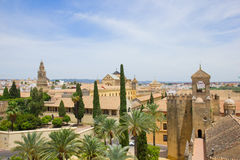 Skyline of Cordoba, Spain stock photo