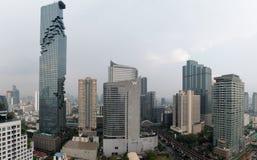 Skyline da baixa de Banguecoque Fotografia de Stock Royalty Free
