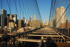 Skyline da baixa de NYC Imagem de Stock Royalty Free