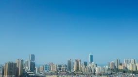 Skyline da cidade foto de stock royalty free