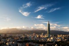 Skyline da cidade Imagens de Stock Royalty Free