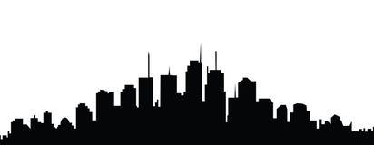 Skyline da cidade ilustração royalty free