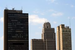 Skyline da cidade Fotografia de Stock Royalty Free