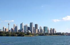 Skyline da cidade de Sydney Fotografia de Stock