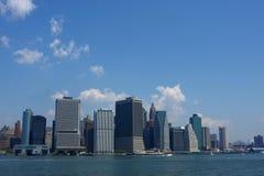 Skyline da cidade da metrópole Fotos de Stock Royalty Free