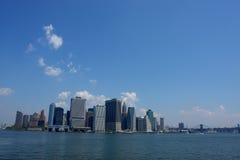 Skyline da cidade da metrópole Fotografia de Stock