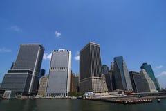 Skyline da cidade da metrópole Foto de Stock