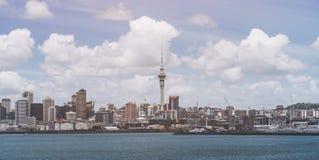 Skyline da cidade de Auckland, Nova Zelândia fotografia de stock royalty free