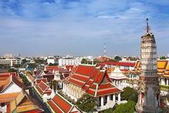 Skyline da cidade de Banguecoque imagens de stock royalty free