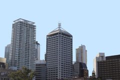 Skyline da cidade de Brisbane Imagem de Stock