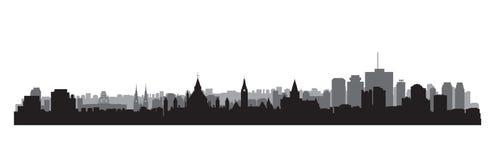 skyline da cidade de Canadá Opinião da arquitetura da cidade de Ottawa Fundo do curso Fotografia de Stock Royalty Free