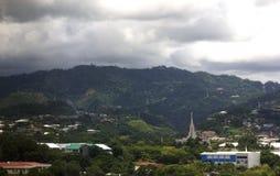 Skyline da cidade de Cebu Foto de Stock Royalty Free