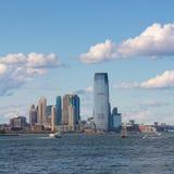 Skyline da cidade de Jersey Fotos de Stock