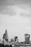 Skyline da cidade de Londres Fotos de Stock Royalty Free