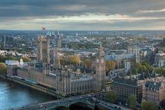 Skyline da cidade de Londres Foto de Stock