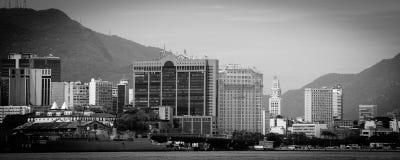 Skyline da cidade de Rio de Janeiro fotografia de stock