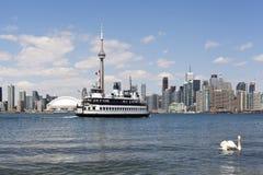 Skyline da cidade de Toronto Imagem de Stock