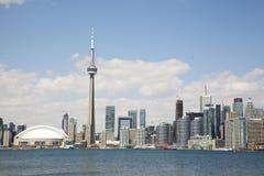Skyline da cidade de Toronto Imagem de Stock Royalty Free