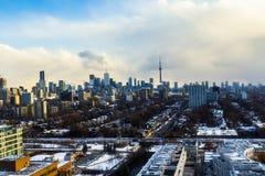 Skyline da cidade de Toronto Imagens de Stock