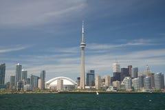 Skyline da cidade de Toronto Foto de Stock Royalty Free
