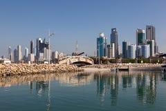 Skyline da Cidade do Kuwait Imagem de Stock Royalty Free