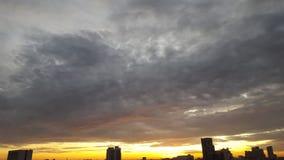 Skyline da manhã Fotografia de Stock