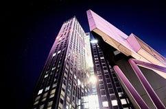 Skyline da noite Imagem de Stock