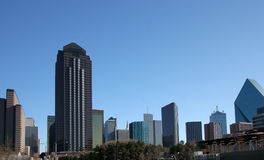 Skyline of Dallas Stock Photos