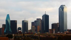 The skyline of Dallas, Texas during day. The skyline of Dallas during day stock image