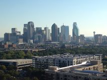 Skyline of Dallas, Texas Uptown View Stock Image