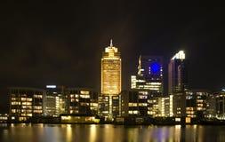 Skyline de Amsterdão Fotografia de Stock Royalty Free
